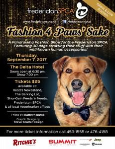Fredericton Spca Fashion Show