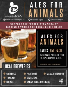 ALES FOR ANIMALS POSTER